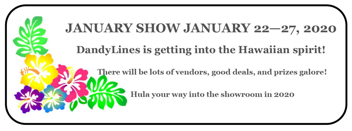 Dandylines January Holiday Show